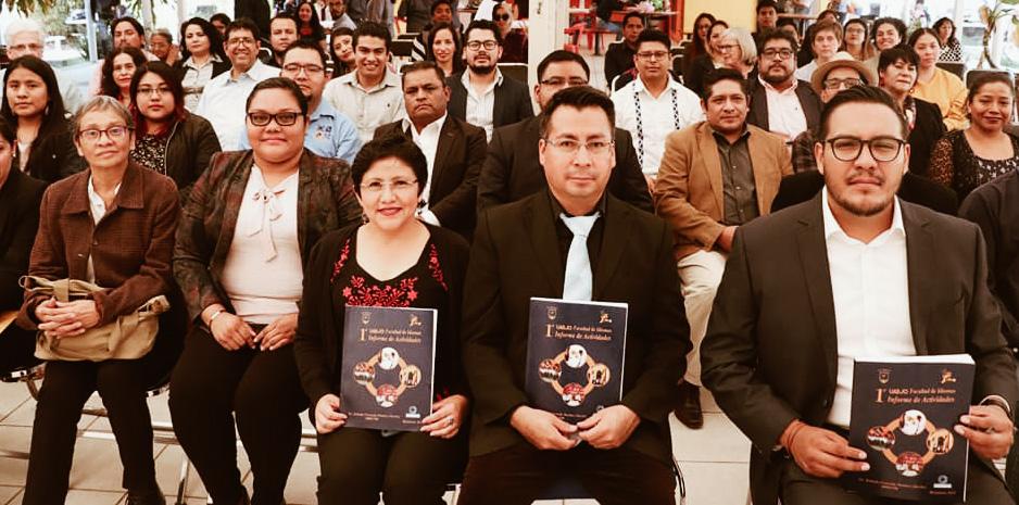 1er Informe de Actividades Facultad de Idiomas, UABJO Administración 2018-2021